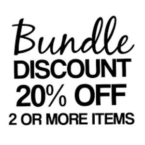 Bundle and I will send an additional offer!
